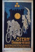 Vintage German poster - Stern bicycle works
